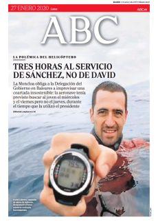 TRES HORAS AL SERVICIO DE SÁNCHEZ, NO DE DAVID