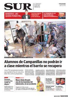 ALUMNOS DE CAMPANILLAS NO PODRÁN IR A CLASE MIENTRAS EL BARRIO SE RECUPERA