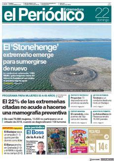EL 'STONEHENGE' EXTREMEÑO EMERGE PARA SUMERGIRSE DE NUEVO