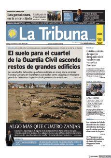 EL SUELO PARA EL CUARTEL DE LA GUARDIA CIVIL ESCONDE RESTOS DE GRANDES EDIFICIOS