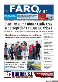LA AFICIÓN ACOMPAÑA AL CEUTA EN SU PARTIDO CONTRA LOS BARRIOS