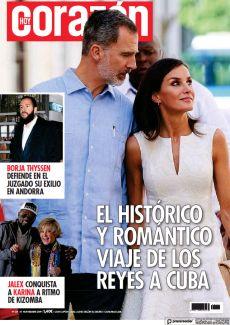 EL HISTÓRICO Y ROMÁNTICO VIAJE DE LOS REYES A CUBA